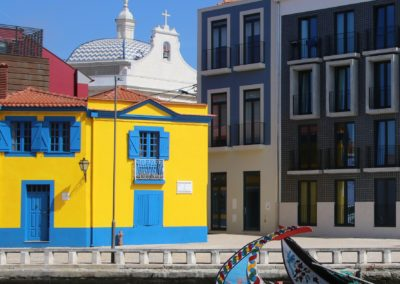 Aveiro - known as the Venice of Portugal...it's a lovely place to wander but nothing like Venice ...