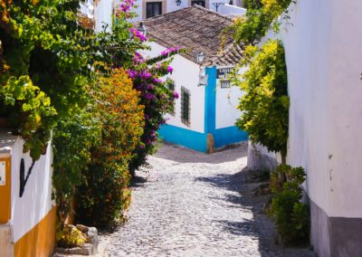 The lovely town of Obidos - known as Vila das Rainhas - town of the Queens ...