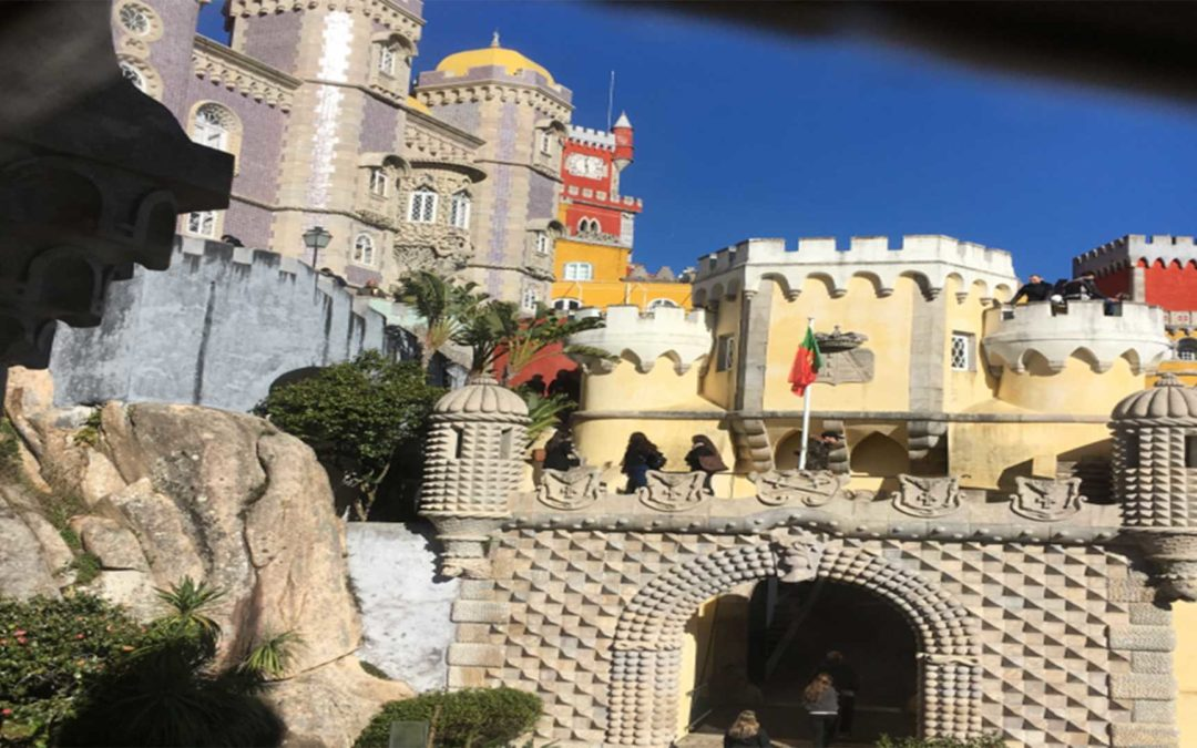 Sintra is a circus of light and passion!